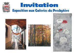 Exposition aux galeries - Peintures et photos @ Galerie du Presbytère
