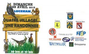 Randonnée des 4 villages @ LUCERAM