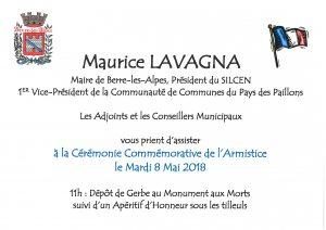 Commémoration du 8 mai @ Monument aux morts