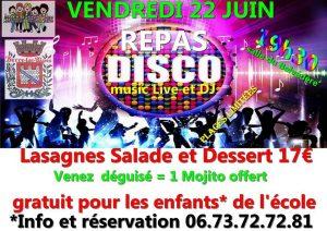 Soirée disco @ Salle du Belvédère