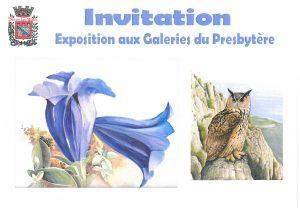 """Exposition aux galeries - """"Regards croisés de deux artistes"""" @ Galeries du Presbytère"""