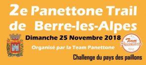 2ème Panettone Trail de Berre-les-Alpes